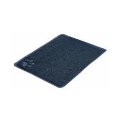 Tapis gris en plastique pour bac à litière