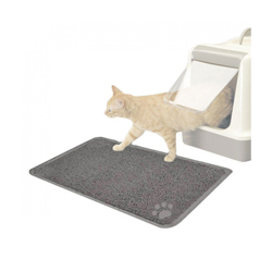 Tapis litière PVC pour chat