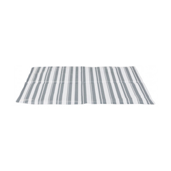 Matelas rafraîchissant blanc/gris - 50 x 40 cm