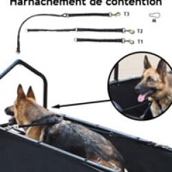 Laisse T1 (33 à 68 cm) pour tapis roulant pour chien Canis-Tapis ® CT201P