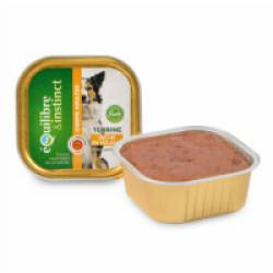Terrine Equilibre & Instinct pour chien adulte saveur Volaille - 9 barquettes de 300g