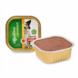 Terrine Equilibre & Instinct pour chien adulte saveur Boeuf - 9 barquettes de 300 g
