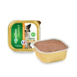 Terrine Equilibre & Instinct pour chien adulteSaveur Canard - 9 barquettes de 300 g