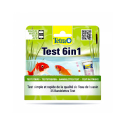 Testeur d'eau Tetra Pond Test 6 in 1