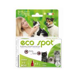 Traitement antiparasitaire pour chaton Essential Eco Spot 2 pipettes de 0,6 ml
