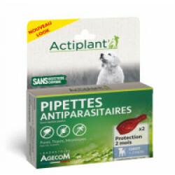 Traitement antiparasitaire pour chiot Essential Eco Spot 2 pipettes 1 ml