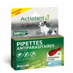Traitement antiparasitaire pour petit chien Essential Eco Spot 2 pipettes 1 ml