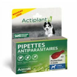 Traitement antiparasitaire pour chien moyen Essential Eco Spot 2 pipettes 2 ml