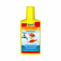 Traitement de l'eau Tetra Goldfish AquaSafe pour aquarium