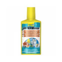 Traitement de l'eau Tetra pH/KH Minus pour aquarium