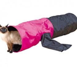 Tunnel Crunch manche tissu nylon pour chat