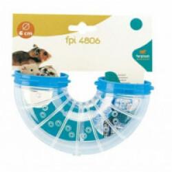 Tunnel pour cage hamster Ferplast coudé FPI 4806 U TURN