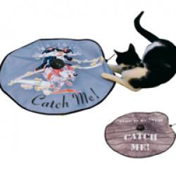 Undercover mousse jeu mobile pour chat Bleu Catch me cat