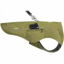 Veste harnais Overcoat Fuse™ Ruffwear vert XXS