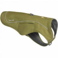 Veste harnais Overcoat Fuse™ Ruffwear vert XL