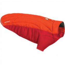 Veste molletonnée pour chien Powder Hound™ Ruffwear rouge XXS