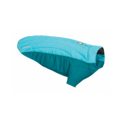 Veste molletonnée pour chien Powder Hound Ruffwear Taille XXS - Coloris bleu
