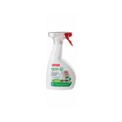 Pulvérisateur insecticide larvicide antiparasitaire pour habitation Véto Pure 400 ml