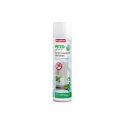 Aérosol insecticide larvicide antiparasitaire pour habitation Véto Pure 400 ml