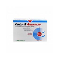 Zentonil Advanced Compléments alimentaires troubles hépatiques pour chiens
