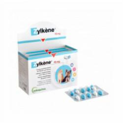 Zylkene contre le stress et l'anxiété pour petit chien et chat -10 kg. Boite 100 gélules 75 mg