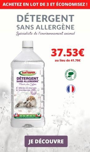 MEA detergent sans allergène saniterpen